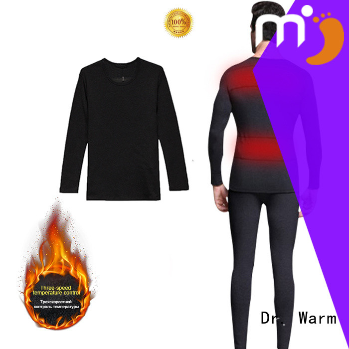 three-speed temperature heated baselayer outdoor improves blood circulation for indoor use