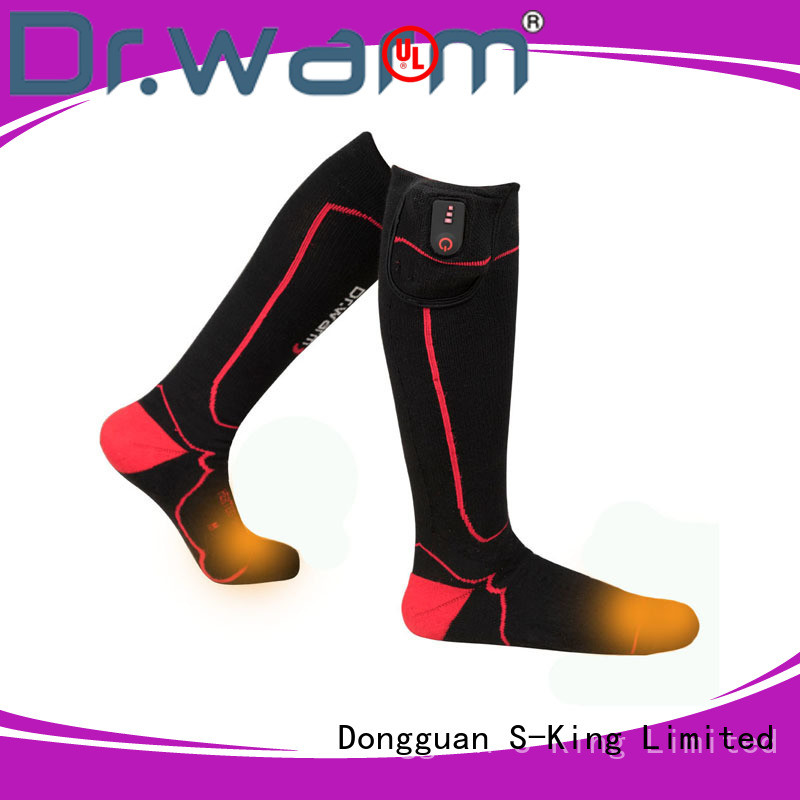 Dr. Warm warm battery operated socks with smart design for winter