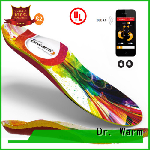 wire bikinggolfingsailing OEM electric insoles Dr. Warm