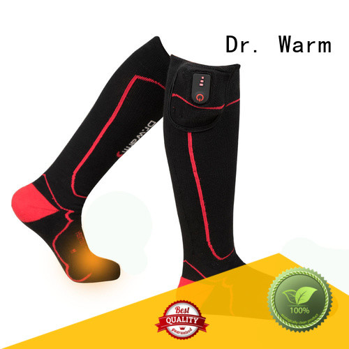 Dr. Warm soft heated ski socks winter for winter
