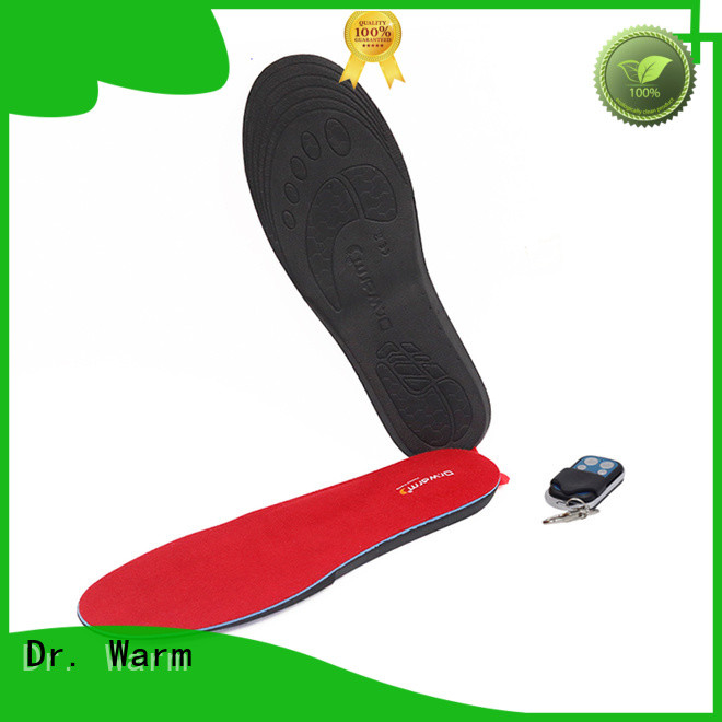 Dr. Warm control heated bluetooth insoles suit your foot shape for indoor use