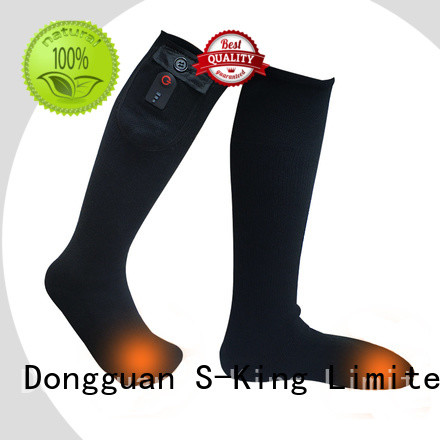 Dr. Warm warm best heated socks with prined pattern for indoor use