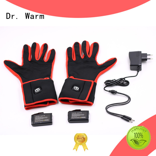 Quality Dr. Warm Brand heated motorcycle gloves warm