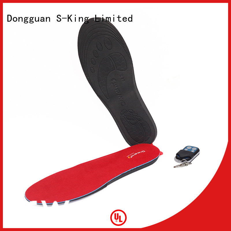 Dr. Warm control the best heated insoles fit to most shoes for indoor use