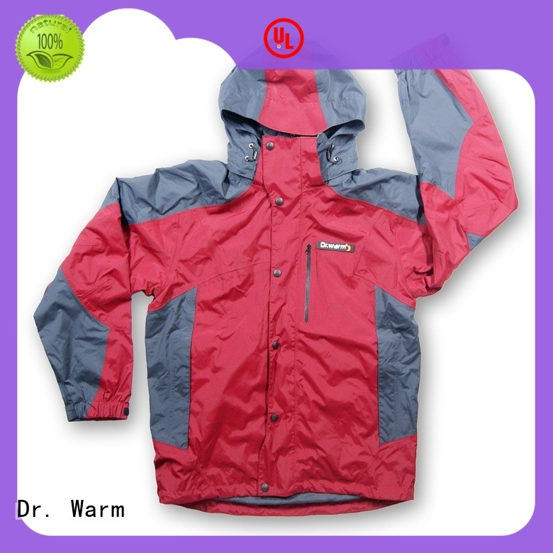 grid mens Dr. Warm Brand battery powered jacket