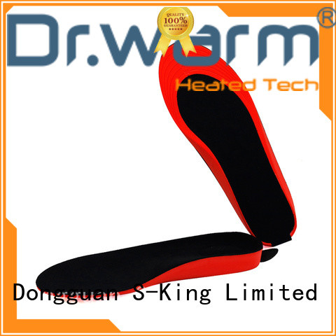 Dr. Warm golfing electric shoe insoles suit your foot shape for ice house