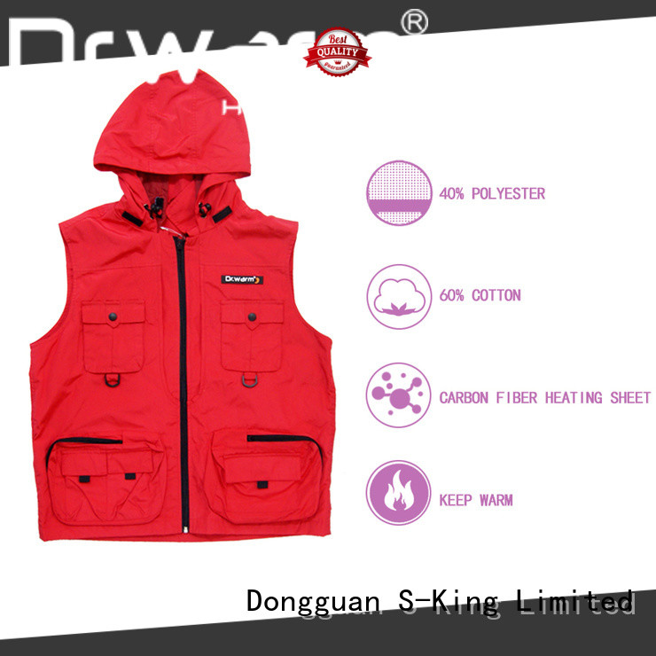 heated vest mens control for winter Dr. Warm