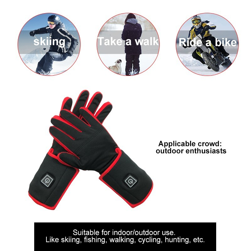 Wholesale men outdoor electric gloves Dr. Warm Brand