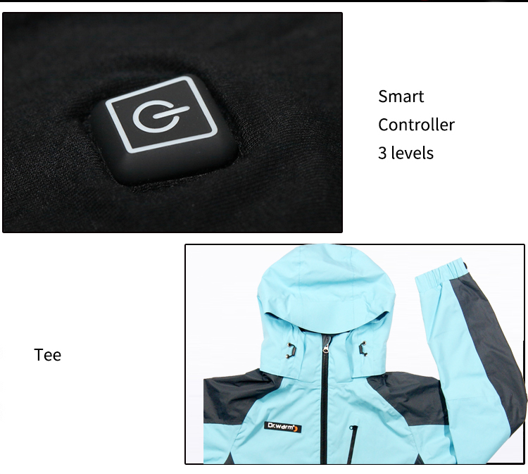 grid battery warm jacket winter with shock absorption for outdoor-3