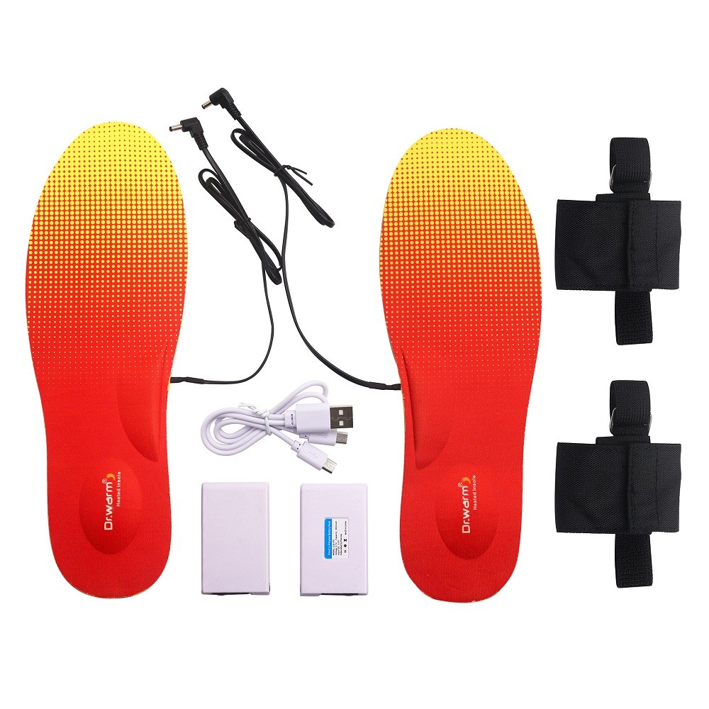 Hot fishing electric insoles warm protect Dr. Warm Brand