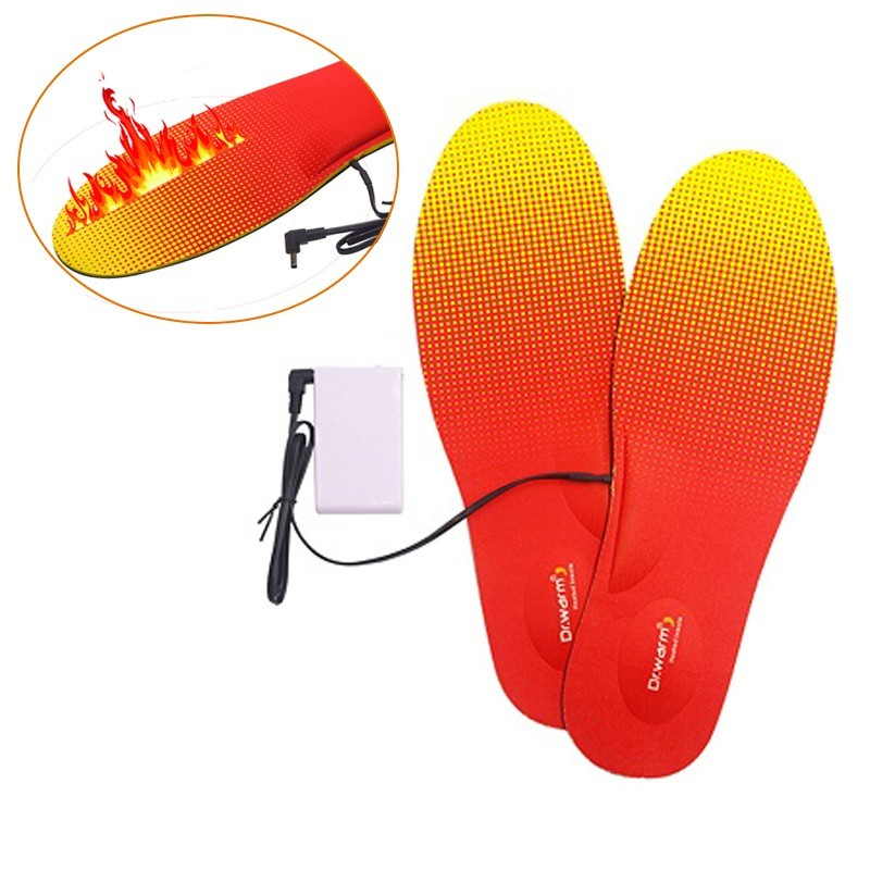 Dr. Warm biking heated insoles bluetooth fit to most shoes for indoor use