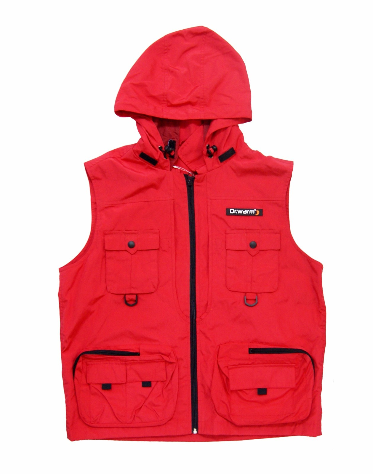Dr. Warm fishing best women's heated vest with prined pattern for home