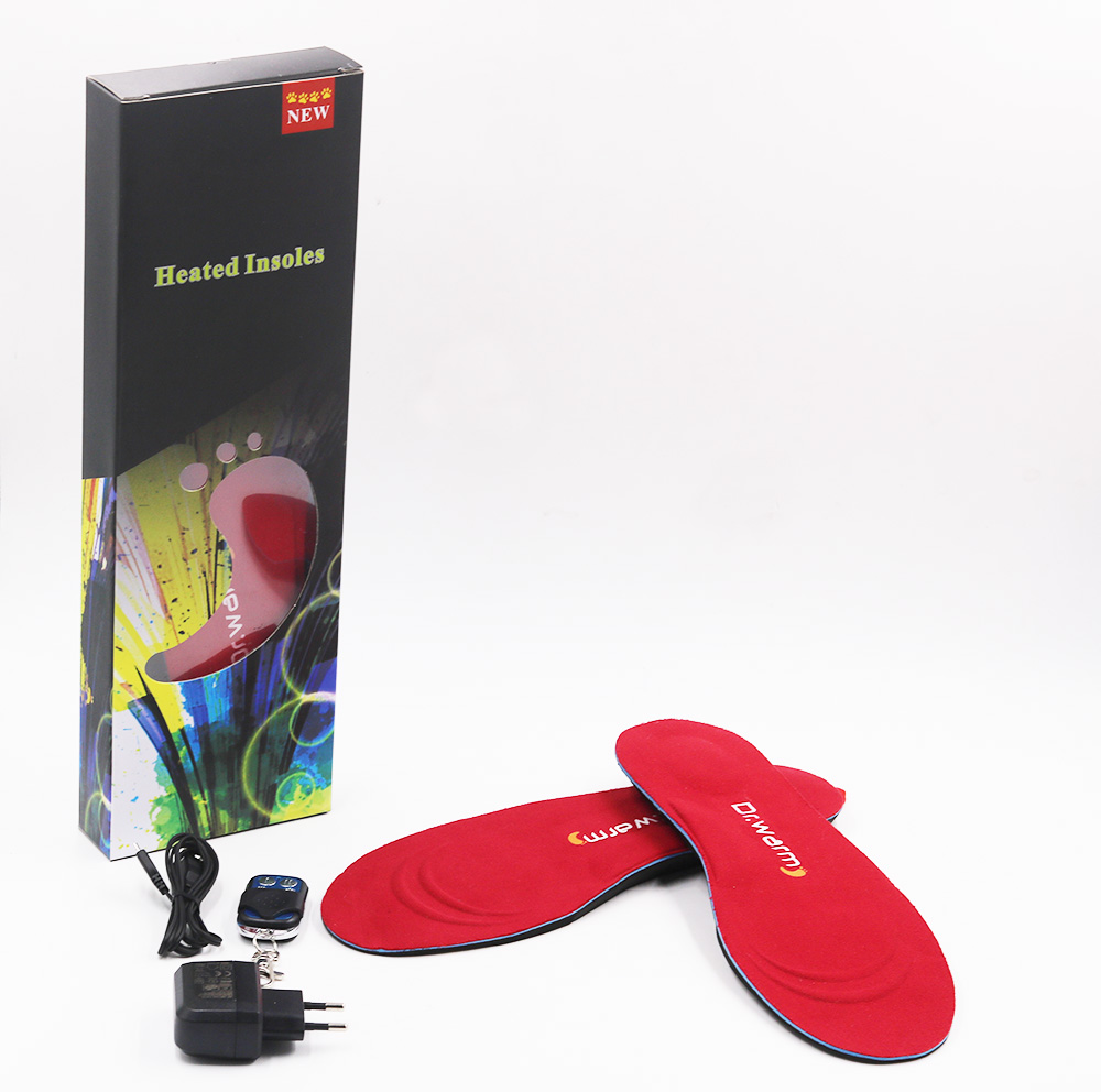 Dr. Warm warm electric insoles lasts for 3-7hours for indoor use-23