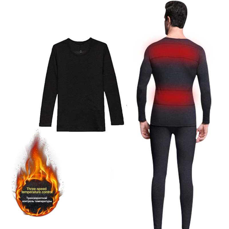 Dr. Warm clothes battery heated thermal underwear level for winter-1
