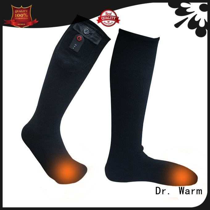 Dr. Warm cotton battery operated socks for home
