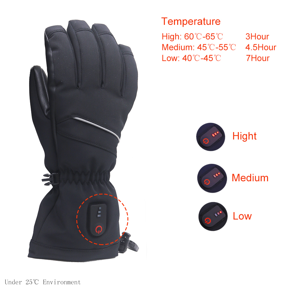 screen best heated gloves sensitive for ice house Dr. Warm-2