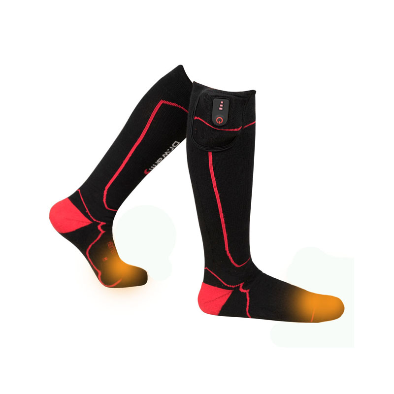 Dr. Warm sports heated socks keep you warm all day for winter-1