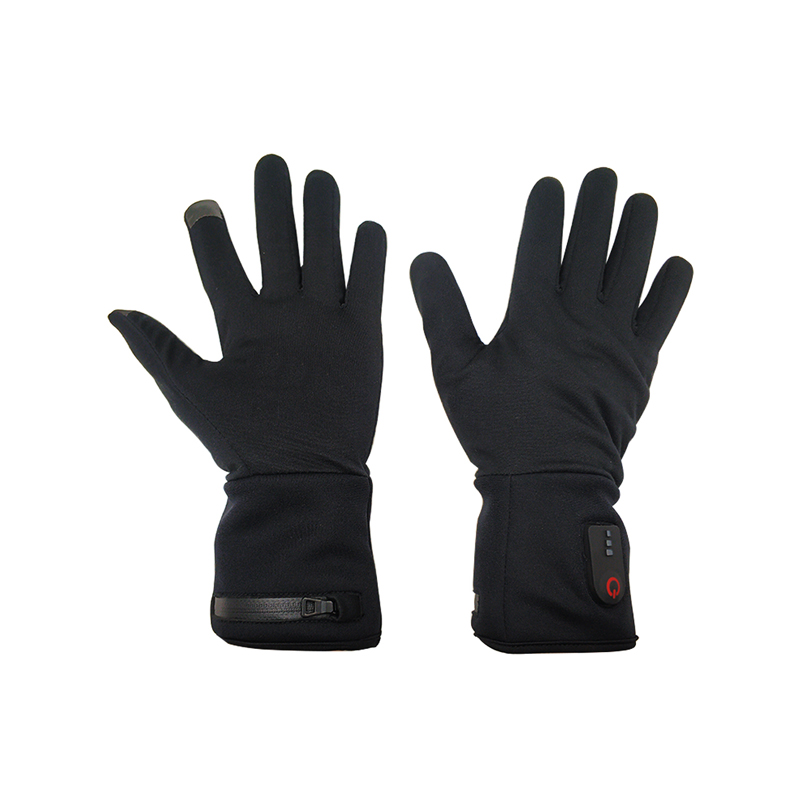 suitable electrical hand gloves skiing with prined pattern for winter-1