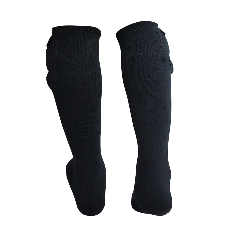 heated rechargeable heated socks winter with prined pattern for winter-3