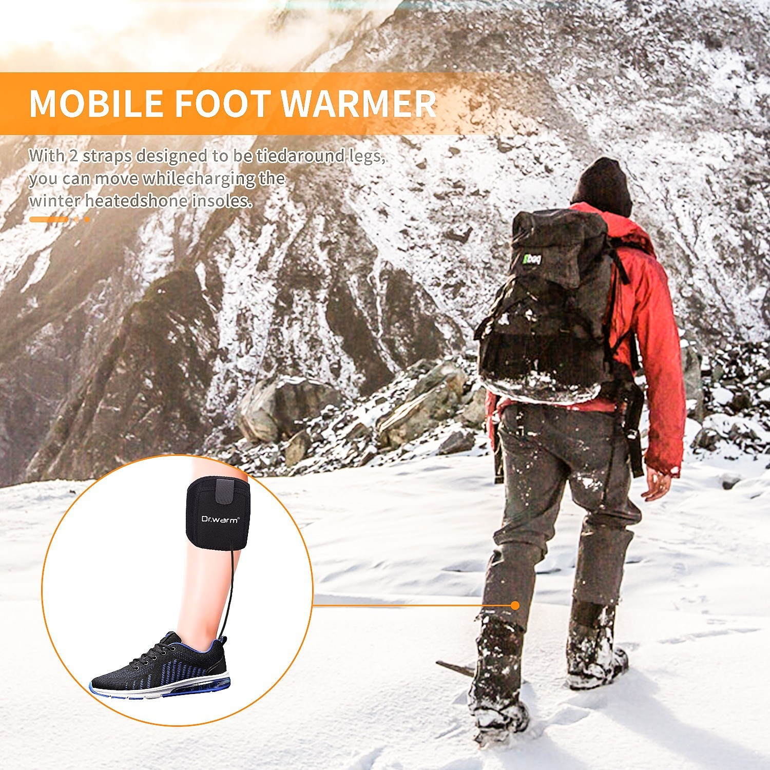 Dr. Warm battery heated insoles