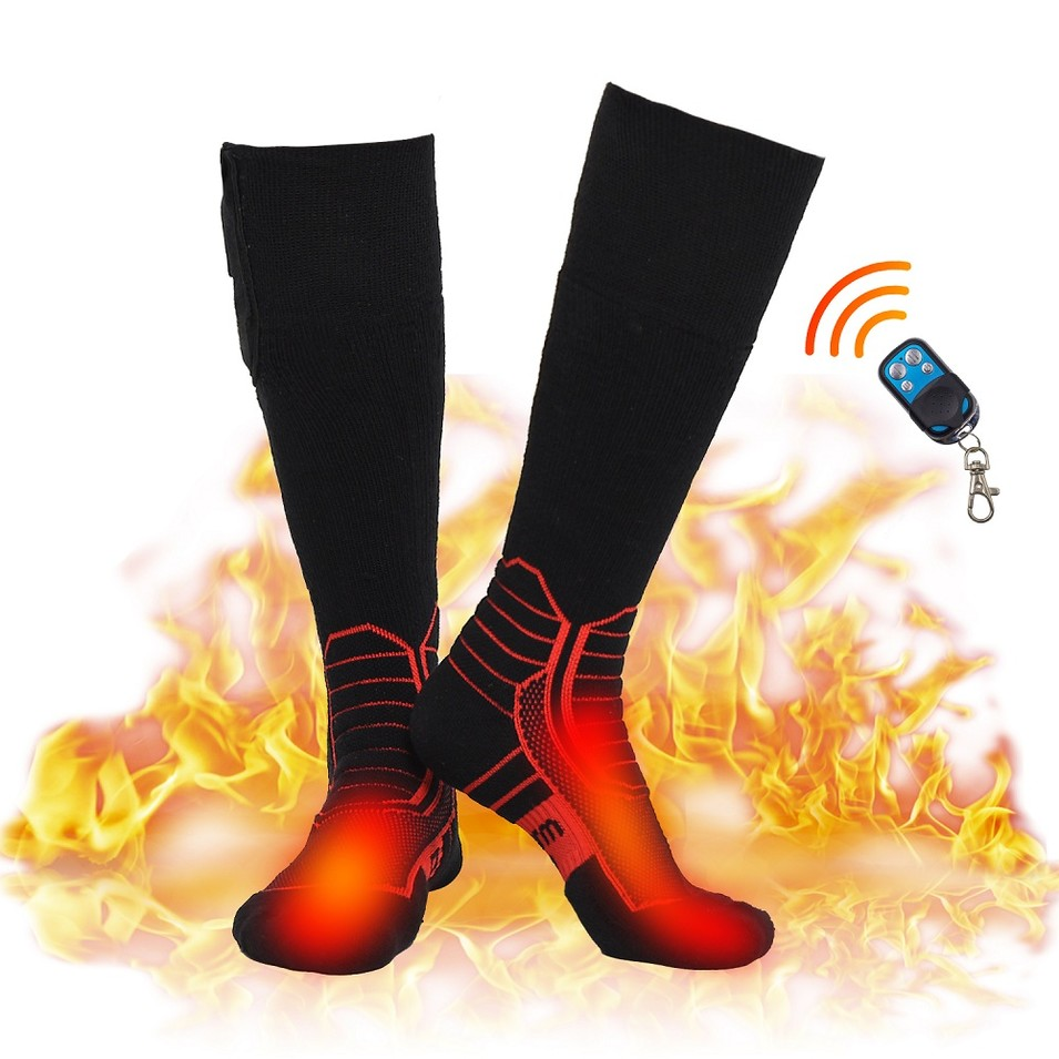 Dr.warm Wireless Heated Socks, Remote Control for Cold Winter Men Women Kids
