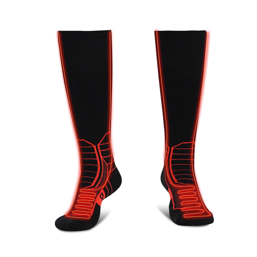Dr. Warm heated cycling socks-3