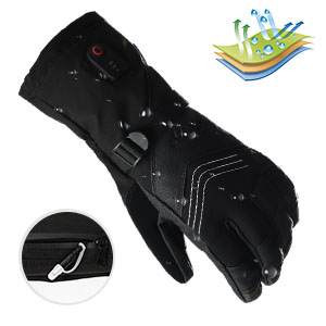 Dr. Warm heated bicycle gloves-10