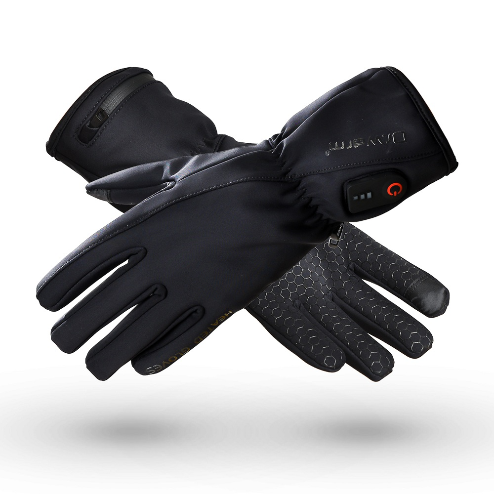 Dr. Warm heated bicycle gloves-1