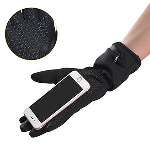 Dr. Warm heated snowboard gloves-3