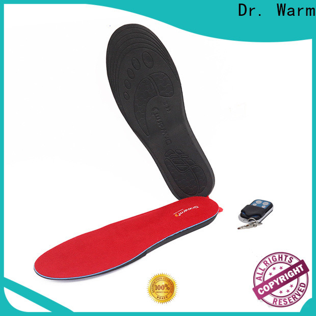 Dr. Warm rechargeable battery powered insoles with cotton for home