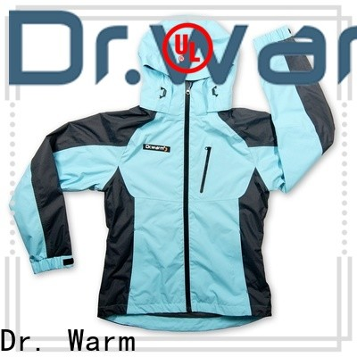 grid heated safety jacket clothes with shock absorption for outdoor