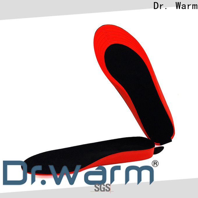Dr. Warm control electric heated shoe insoles fit to most shoes for indoor use