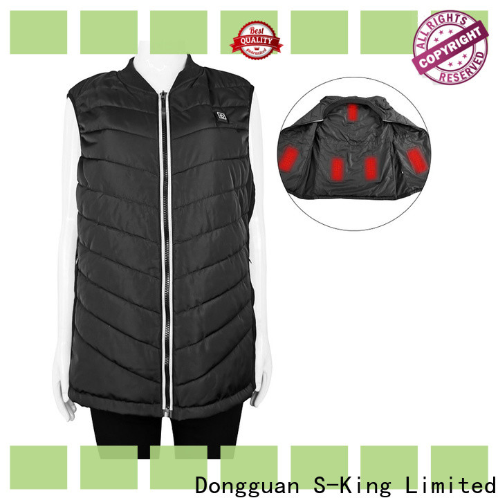 Dr. Warm healthy electric heated vest with prined pattern for home