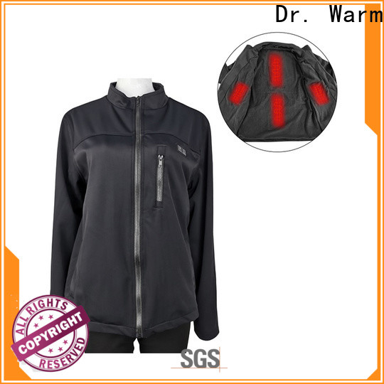 Dr. Warm grid heated winter jacket with arch support design for winter