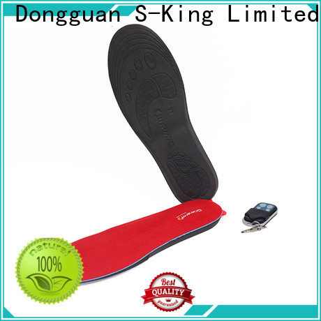 Dr. Warm wire battery powered insoles with cotton for outdoor