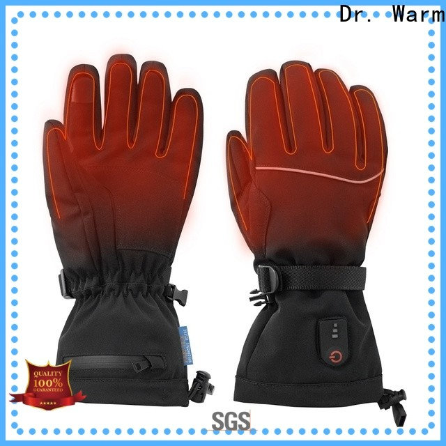 Dr. Warm sensitive electric hand warmer gloves improves blood circulation for indoor use