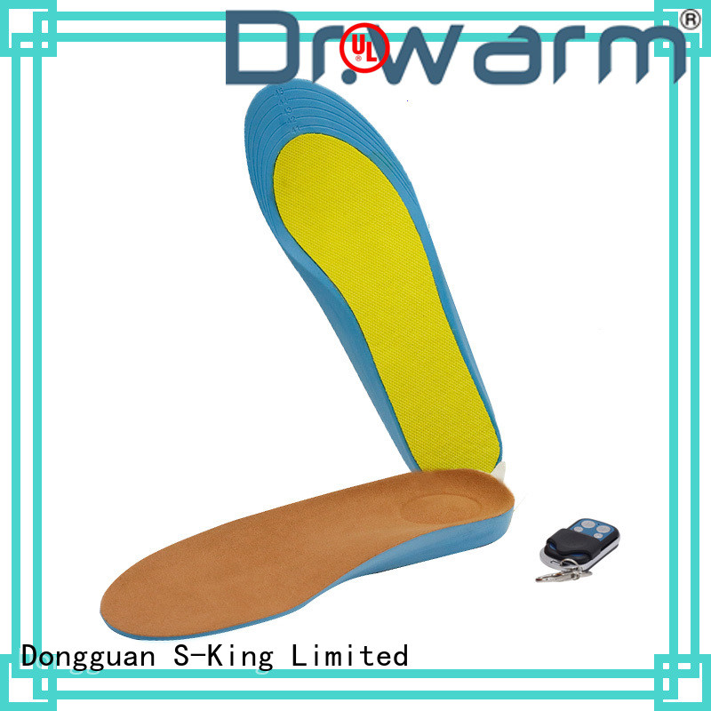 Dr. Warm warm heated insoles lasts for 3-7hours for home