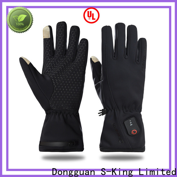 Dr. Warm high quality electrical hand gloves improves blood circulation for ice house