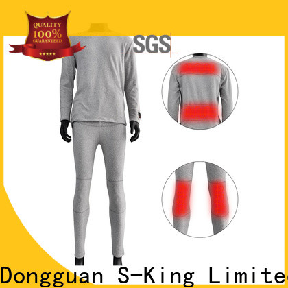 Dr. Warm comfortable heated thermal underwear level for ice house
