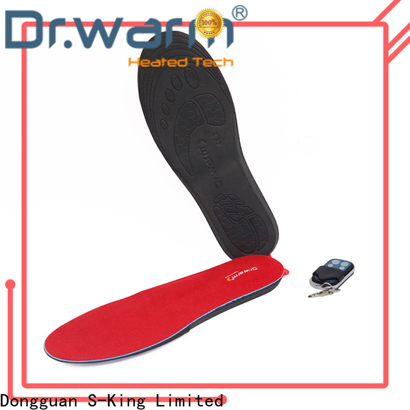Dr. Warm golfing the best heated insoles fit to most shoes for home