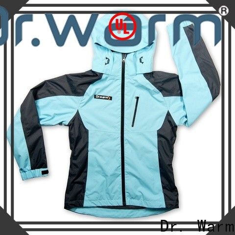 online battery powered heated jacket heated with heel cushion design for home