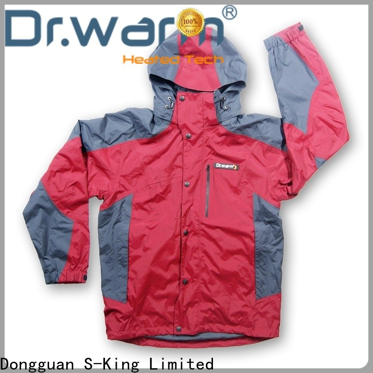 universal cheap heated jacket outdoor with arch support design for winter