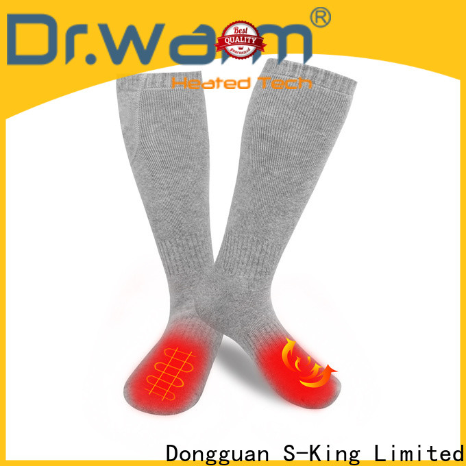 Dr. Warm winter best heated socks keep you warm all day for indoor use
