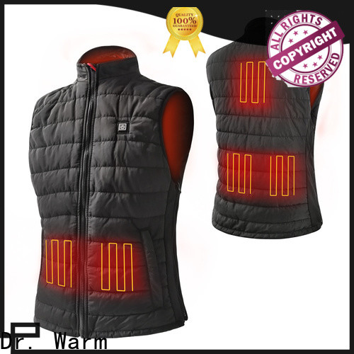 grid heated safety jacket sports with heel cushion design for home