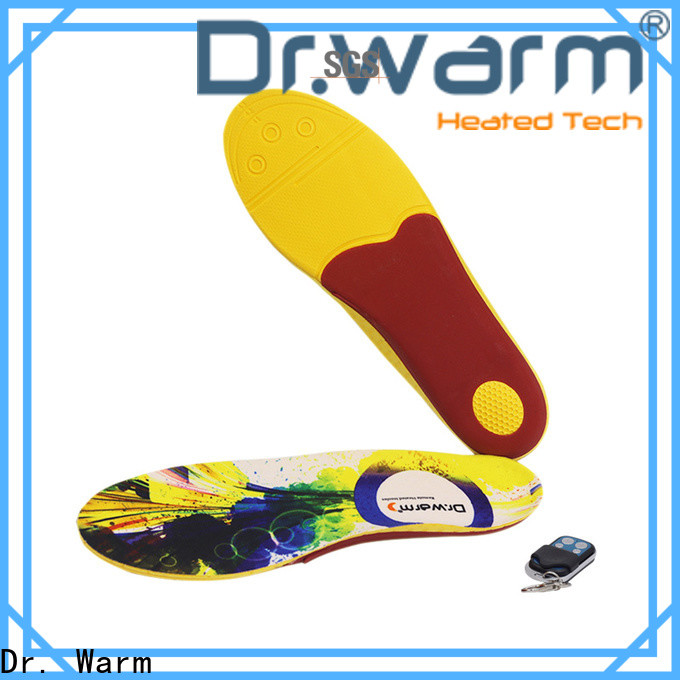 Dr. Warm foot heated sole suit your foot shape for indoor use