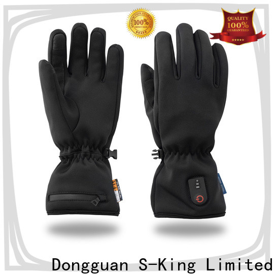 Dr. Warm sensitive battery operated heated gloves improves blood circulation for outdoor