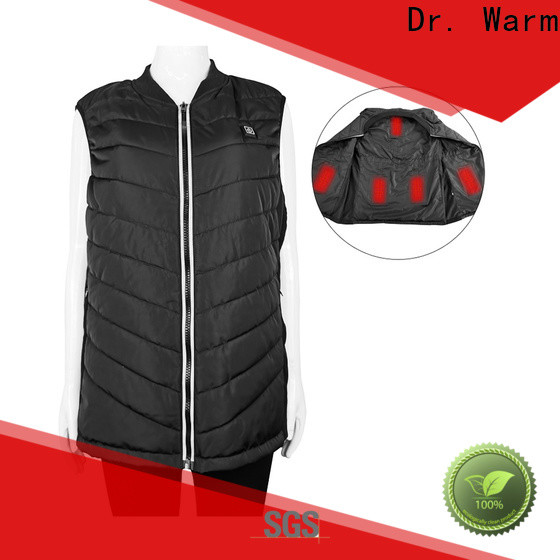 Dr. Warm heating battery powered vest improves blood circulation for home