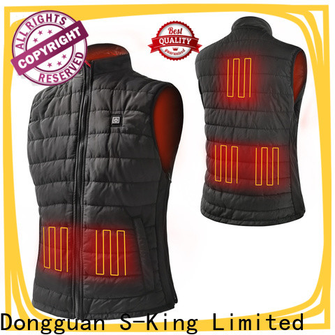 Dr. Warm stock heated winter jacket with shock absorption for ice house