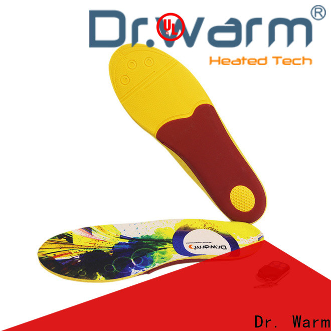 Dr. Warm golfing electric insoles lasts for 3-7hours for winter
