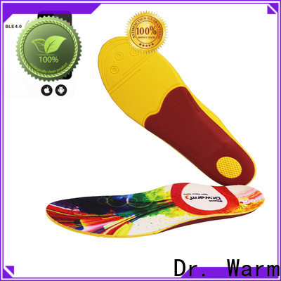 Dr. Warm skiing best heated insoles suit your foot shape for home